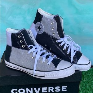 CONVERSE ADULT VULC BLACK/GREY MEN'S